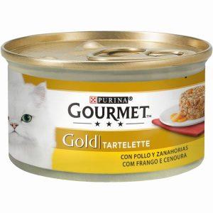 GGOLD TARTELETTE FRANGO COM CENOURAS 85 GR