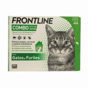 FRONTLINE COMBO GATOS 3 PIPETAS (10)
