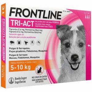 FRONTLINE TRI-ACT 5-10 KG 3 PIPETAS (10)