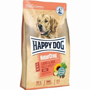 HAPPY DOG P NATURCROQ SALMÃO&ARROZ