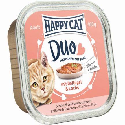 HAPPY CAT DUO FRANGO&SALMÃO
