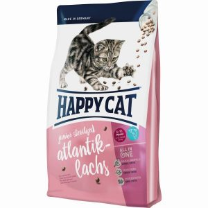 HAPPY CAT S JUNIOR STERILISED ATLANTIK-LACHS