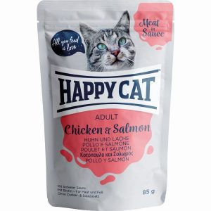 HAPPY CAT MEAT SAUCE FRANGO&SALMÃO