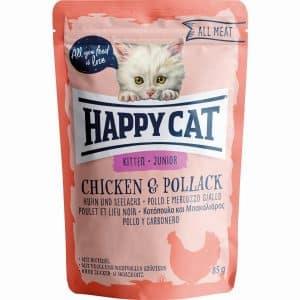 HAPPY CAT ALL MEAT JUNIOR FRANGO&PALOCO