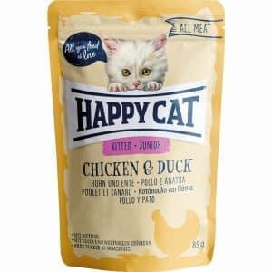 HAPPY CAT ALL MEAT JUNIOR FRANGO&PATO