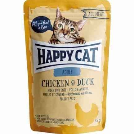HAPPY CAT ALL MEAT FRANGO&PATO