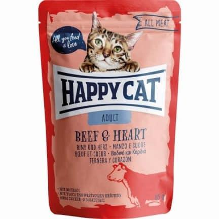 HAPPY CAT ALL MEAT VACA&CORAÇÃO
