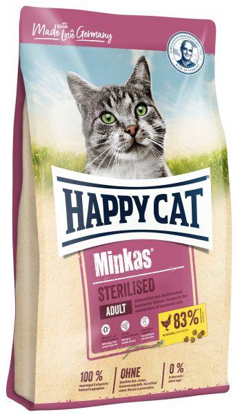 HAPPY CAT M MINKAS STERILISED