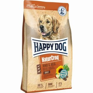 HAPPY DOG P NATURCROQ VACA&ARROZ