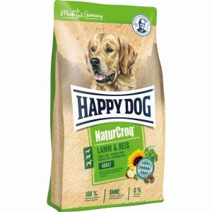 HAPPY DOG P NATURCROQ BORREGO&ARROZ